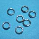 JUMP RINGS - Open 4mm    Nickel Tone  100 Pieces      JR4nt