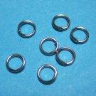 JUMP RINGS - Open 4mm    Nickel Tone  500 Pieces      JR4nt