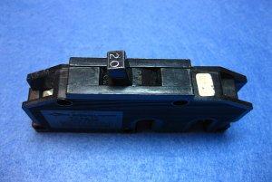 BREAKER, 20 amp Zinsco Type Q Single Pole BKR003