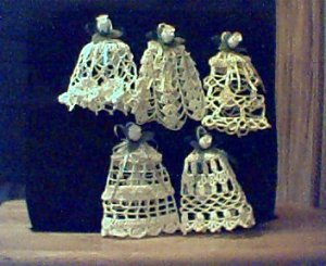 Croched Bell Ornaments