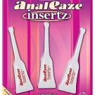 Anal Ease Insertz - Numbing Lubricant - .5 oz - 1 Package of 3