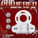 Mega Power - 7 Speed Vibrating Penis Ring - resuseable