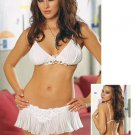 2 Piece Chiffon Bra & Skirtini Set