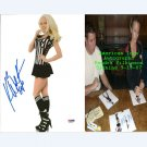KENDRA WILKINSON (THE GIRLS NEXT DOOR) SIGNED AUTOGRAPHED PLAYBOY 8X10 PHOTO