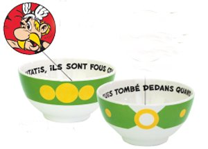 Asterix Melamine Cereal Bowl