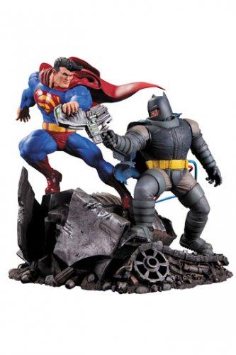 Batman The Dark Knight Returns Statue Superman vs. Batman 28 cm (NEW)