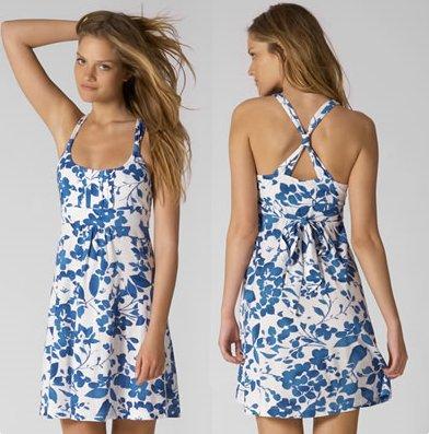 American Eagle Cross-Back Floral Dress (Size: S)