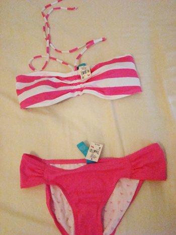 Victoria's Secret PINK Bandeau Bikini (Size M/S)