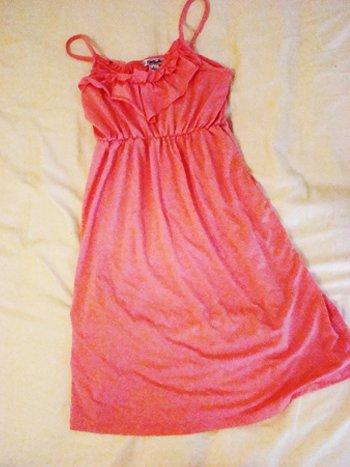 Celebrity Pink Pink Ruffle Dress (Size S)