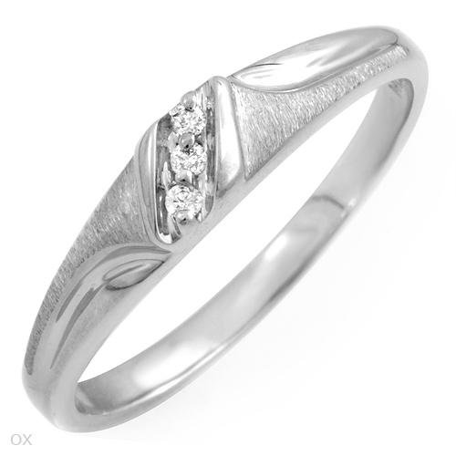 27% OFF - Diamond 10K White Gold Engagement Ring