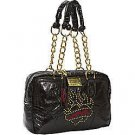 ED HARDY 100% Original Pam Mini Satchel - Black