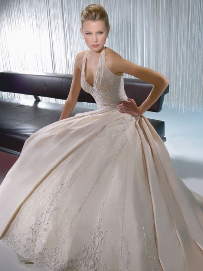 2010 White Wedding Dress Gown Size all DS005