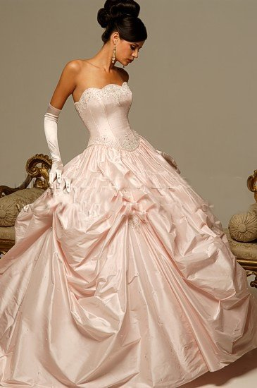 2010 White Wedding Dress Gown Size all custome-made DS006