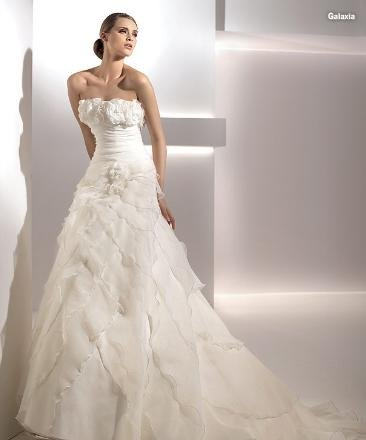 New style Custom-made wedding Dress bridal wear Gown DS033