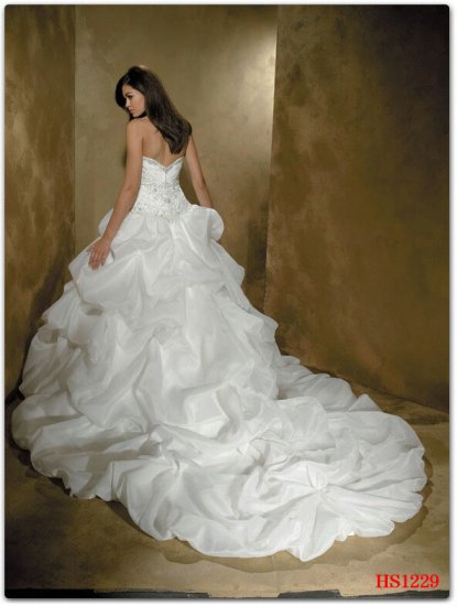 New style Custom-made wedding Dress bridal wear Gown DS037