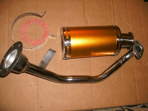 gy6 shorty exhaust ruckus Scooter atv kart buggy 150cc