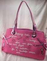 Pink Glitter Small Tote