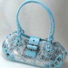 Blue & Silver Bag