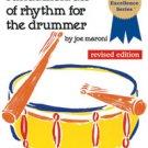 Fundamentals of Rhythm for the Drummer by Joe Maroni