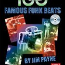 100 Famous Funk Beats Book/CD Set by Jim Payne drum set