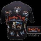 Famous Drums T-Shirt NEW