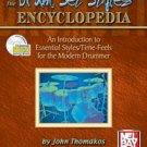 Drum Set Styles Encyclopedia Book/CD Set by John Thomakos