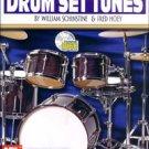 Drum Set Tunes Book Book/CD Set by William Schinstine & Fred Hoey