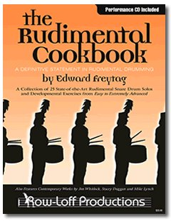 The Rudimental Cookbook Edward Freytag book and cd