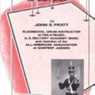 14 Modern Contest Solos for Snare Drum by John S Pratt book