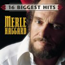 MERLE HAGGARD - 16 BIGGEST HITS - CD free shipping