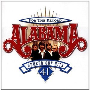 ALABAMA FOR THE RECORD NUMBER ONE HITS CD free shipping