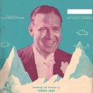 LITTLE SIR ECHO piano vocal guitar sheet music 1939