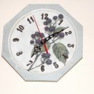 Wildberry wall clock
