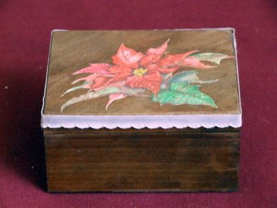 Christmas jewelry box
