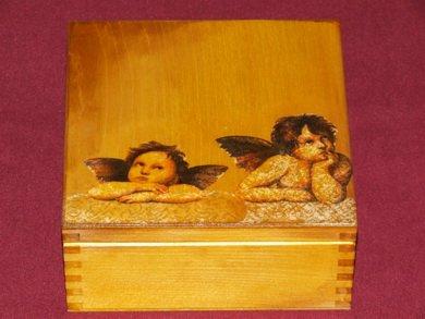 Angel's tea box