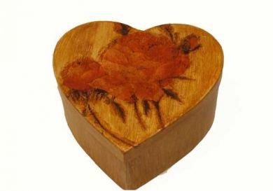 Jewelry heart box