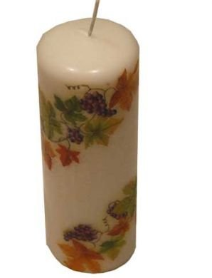 Autum candle