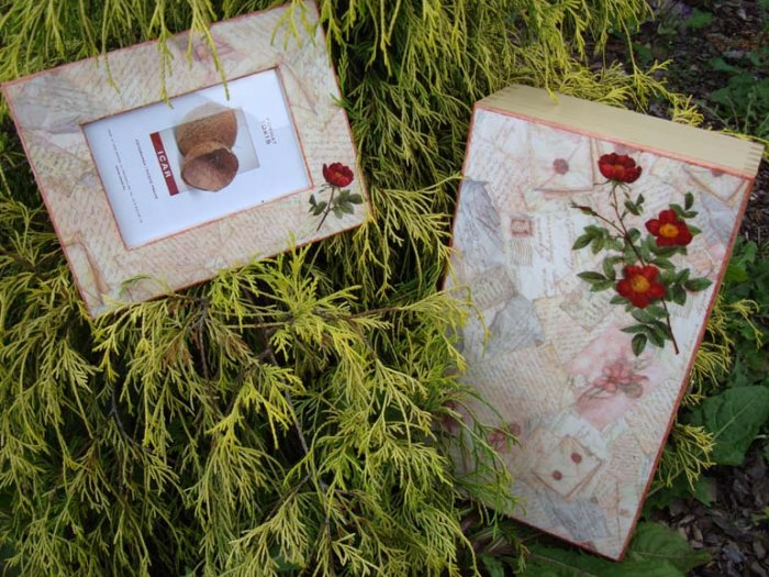 Box & photo frame