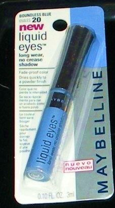 Maybelline Liquid Eyes Shadow in Boundless Blue (#20)