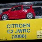 Citroen C2 JWRC (2006) Diecast model 1:64