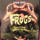 """Frogs"" horror movie, like new dvd"