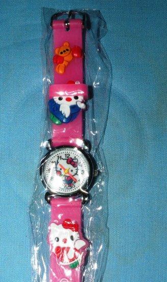 Hello Kitty watch: Pink Jelly Band, Women's
