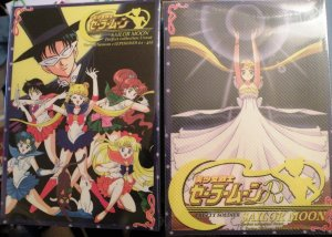 Sailor Moon UNCUT Season 1 & 2 Box sets Dvds