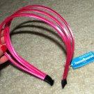 Pink SatinTriple Band Headband