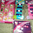 HELLO KITTY Girly Lot of Stickers, Bracelet, Hair Bands