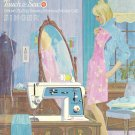 Singer Model 645 Touch And Sew Zig Zag Sewing MANUAL ON CD