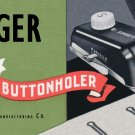 Singer Buttonholer 160743 For Model 301 301A MANUAL ON CD