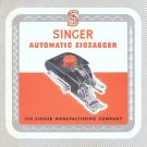 Singer 15 201 221 1200 301 301A Automatic Zigzagger MANUAL ON CD