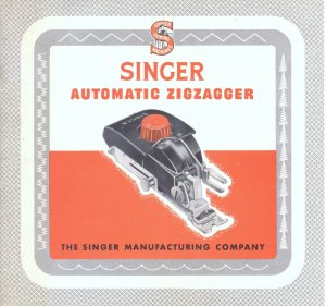 Singer 15 201 221 1200 301 301A Automatic Zigzagger MANUAL in pdf format