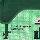Viking Husqvarna Model 21 E 21E Sewing MANUAL ON CD